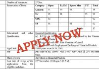 vacancies in animal husbandry department himacha pradesh-001