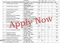 43 vacancies in YS Parmar University