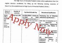 vacancies in hp high court