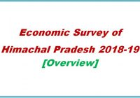 economic survey of Himachal Pradesh 2018-19 - Himachal Pradesh Genearal Studies