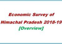 economic survey of Himachal Pradesh 2018-19 - Himachal Pradesh Genearal Studies