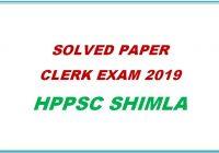 solved-paper-clerk-exam-2019-hppsc-shimla-himachal-pradesh-general-studies