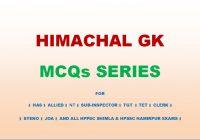 Himachal Pradesh General Studies - Education Revolution